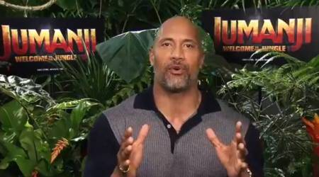Dwayne Johnson tries to understand India's cricket obsession