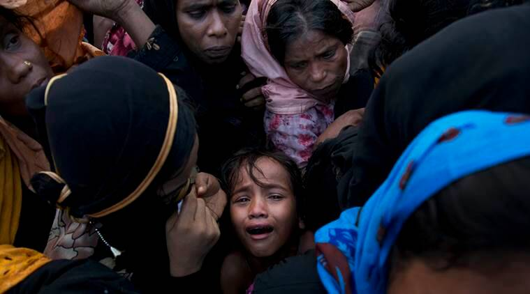"""Special Rapporteur on Human Rights in Myanmar Yanghee Lee told the Human Rights Council that violent sweeps by the Myanmar army in Rakhine state that prompted about 700,000 Rohingya Muslims to flee to neighboring Bangladesh """"bear the hallmarks of genocide"""". (AP photo)"""
