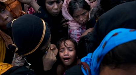 Rohingya, Myanmar, Save The Children, Rohingya Refugees in Bangladesh, Indian Express
