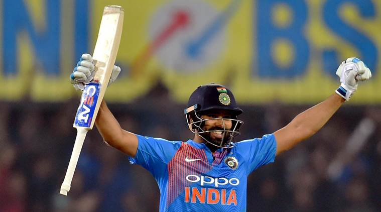 Rohit Sharma breaks numerous records thanks to 'lucky charm'