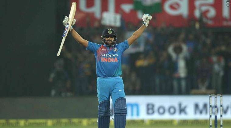 Rohit Sharma hits century