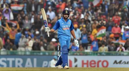 Live Cricket Score India vs Sri Lanka 2nd ODI, Ind Vs SL Live Score in Mohali: Rohit Sharma 1st batsman to score three 200, India post 392/4