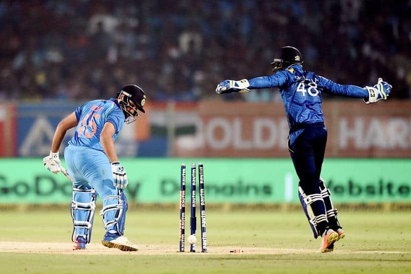 India vs Sri Lanka, Kuldeep Yadav, Yuzvendra Chahal, Sri Lanka tour of India 2017, Shikhar Dhawan, sports gallery, cricket photos, Indian Express