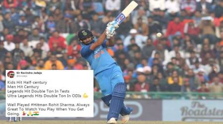 Rohit Sharma's 'ultra legendary' third double-century shuts trolls and gets Twitterati screaming with joy