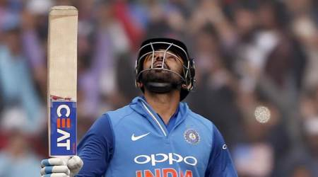 Rohit Sharma scores 208*, first batsman to hit three ODI double hundreds