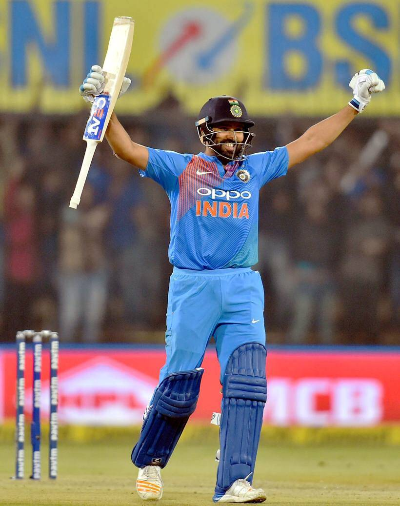 Rohit Sharma hundred photos, India vs Sri lanka photos, Real Madrid vs Barcelona photos, Vijender Singh photos, Messi photos, Sports photos, Indian Express