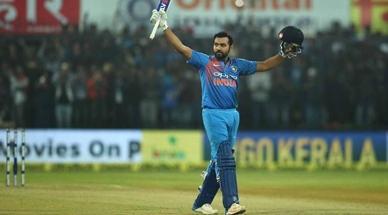 Rohit Sharma scored century against Sri Lanka