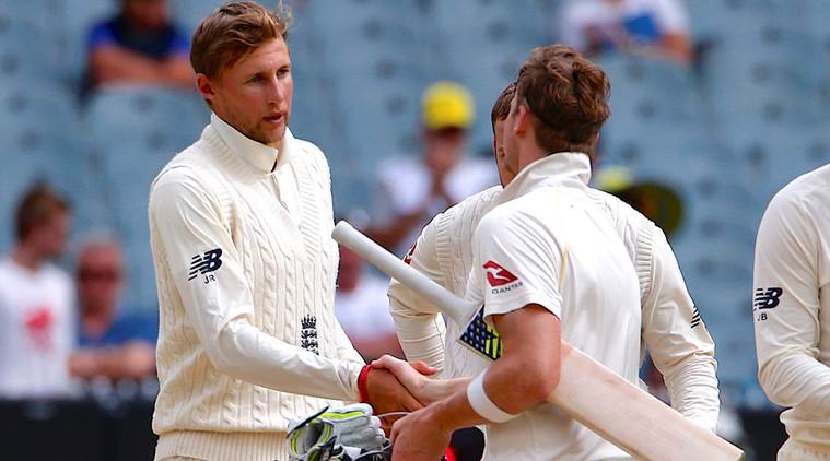 Australia played 4th Test against England in Melbourne.
