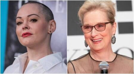 Rose McGowan slams Meryl Streep and others who plan to wear black at Golden Globes