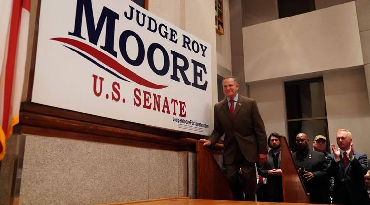 Roy Moore, Alabama Senate elections, Who is Roy Moore?, Donald Trump, sexual harassment, Doug Jones, Republicans in Alabama, Christian conservations, Moore sexual harassment cases, indian express