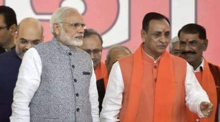 PM Modi and Vijay Rupani