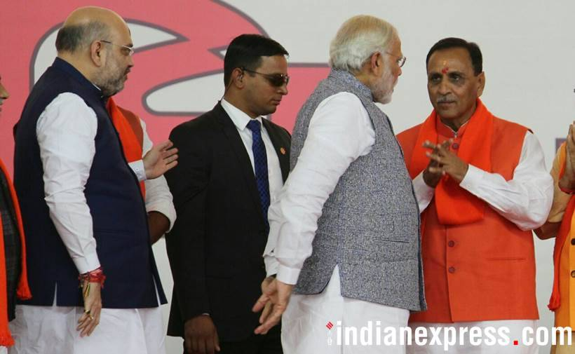 Gujarat CM Vijay Rupani sworn-in