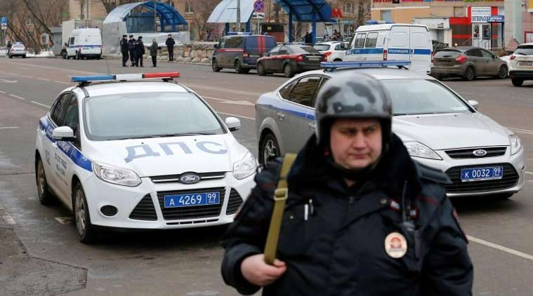 Blast in supermarket in Saint Petersburg, Russia, several injured