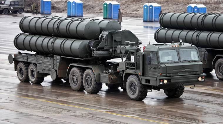 What is the S-400 air defence missile system?