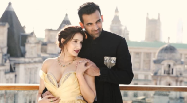 Sagarika Ghatge, Zaheer photo shoo