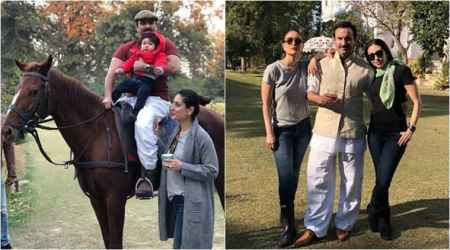Saif Ali Khan and Kareena Kapoor are gearing up for Taimur Ali Khan's royal birthday at Pataudi Palace, see photos