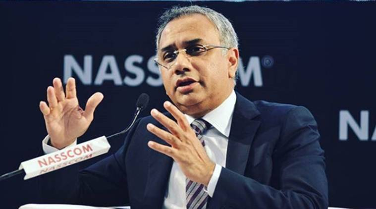 Salil Parekh, Infosys, Infosys CEO, NASDAQ, TV Mohandas Pai, Vishal Sikka, business news, Indian express news