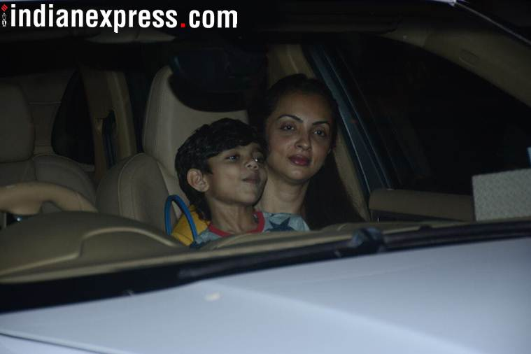 sohail khan wife at salma khan birthday