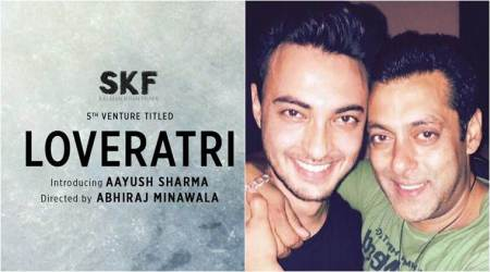 Salman Khan is all set to launch brother-in-law Aayush Sharma with Loveratri