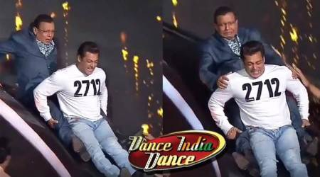 salman khan Mithun Chakraborty dance india dance
