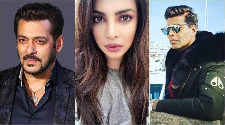 Priyanka Chopra, Salman Khan, Karan Johar in variety 500 list