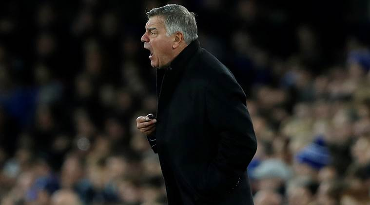 Sam Allardyce takes blame for 'shock' Everton performance