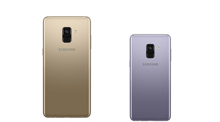 Samsung's new phones have dual selfie cameras