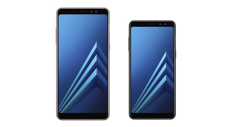 Samsung introduces the Galaxy A8/A8+ (2018) with two front cameras