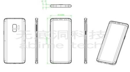 Samsung Galaxy S9 leaked schematic reveals design, hints at single rear camera