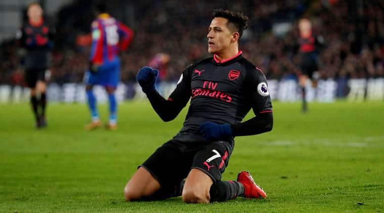 Arsenal beat Crystal Palace 3-2.