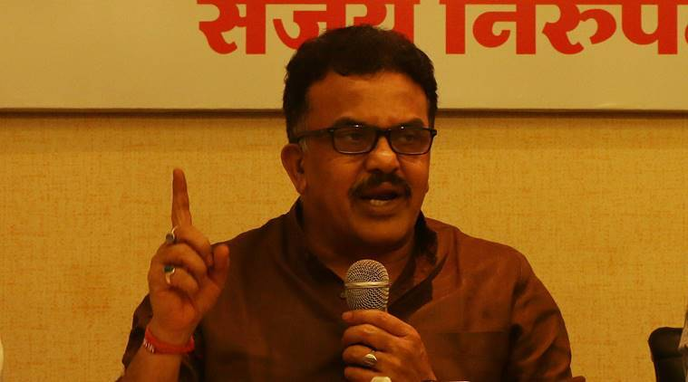sanjay nirupam, sanjay nirupam on modi, narendra modi movie, narendra modi, chalo jeete hain, modi film screening in mumbai schools, indian express, modi unpadh gawaar