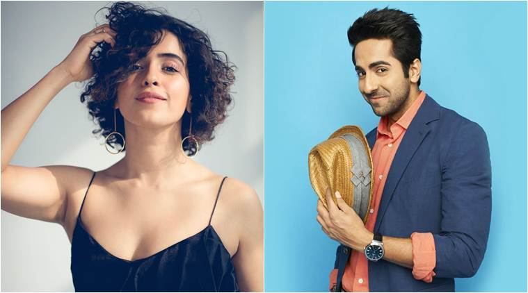 sanya malhota and ayushmann khurrana's next film