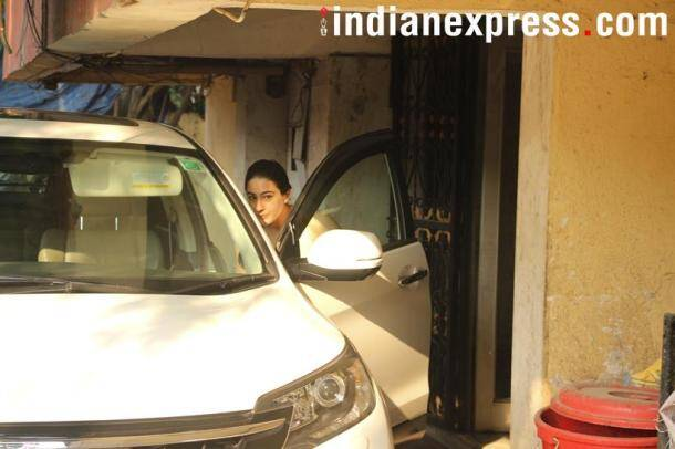 Sara Ali Khan was also spotted in the city.