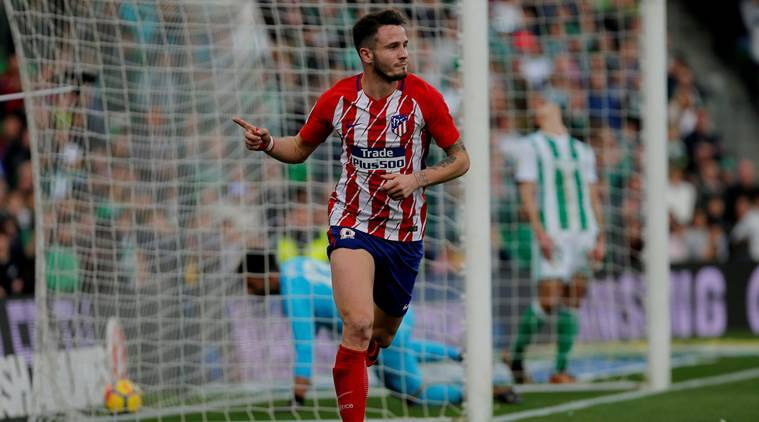 Saul Niguez strike earns Atletico Madrid scrappy win at Real Betis