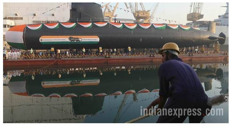 Narendra Modi in Mumbai to commission Navy submarine