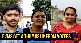 EVMs get a thumbs-up from voters