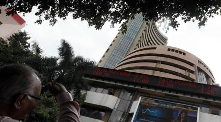 Sensex down 137 points, rupee down 42 paise against dollar