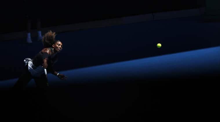 Serana Williams may defend her Australian Open crown.