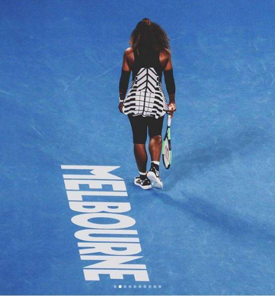Serena Williams falls in first match since giving birth