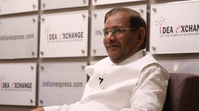 HC to hear Sharad Yadav's plea against disqualification from Rajya Sabha