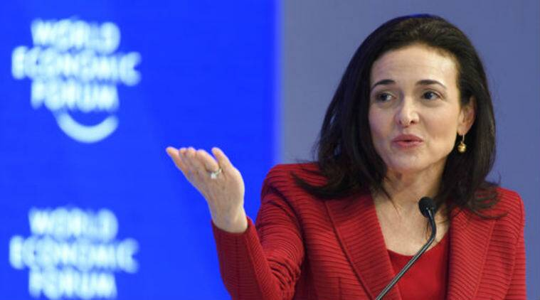 Facebook COO Sheryl Sandberg said that the social media giant would take a closer look at its advertising policies.