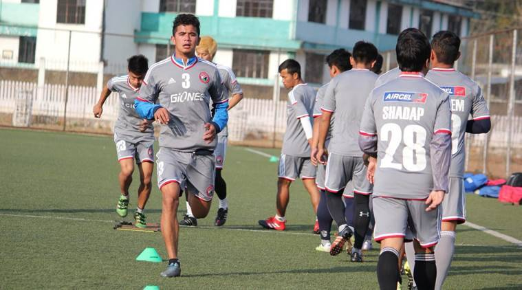 Shillong Lajong would look to build a winning momentum when they take on Churchill Brothers in their second home fixture in Shillong on Saturday.