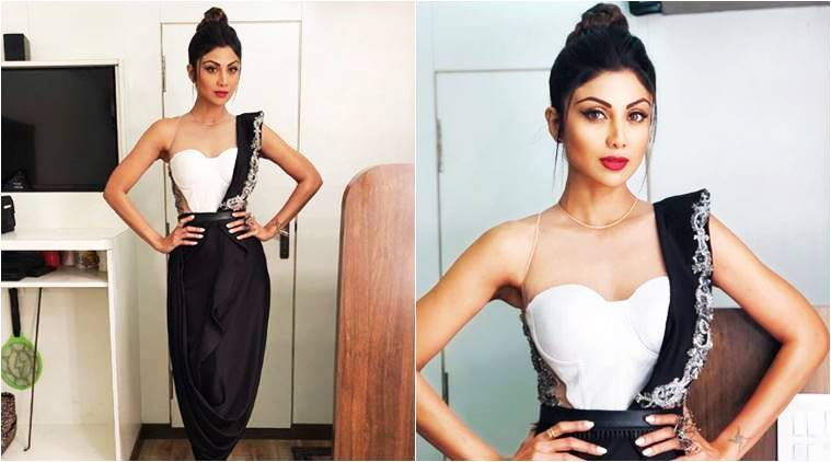 Shilpa Shetty, Shilpa Shetty latest photos, Shilpa Shetty fashion, Shilpa Shetty saris, Shilpa Shetty corest sari