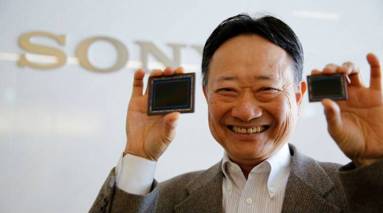 Sony image sensors, consumer electronics, Sony Walkman, Sony chip business, robotics, Hitachi, self-driving cars, NEC Corp, gesture recognition, Samsung Electronics, Terushi Shimizu, drones