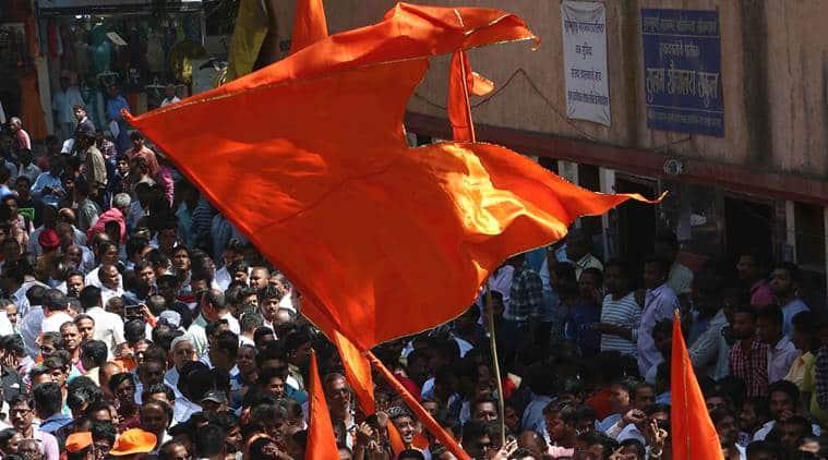Sena men held for staging protests