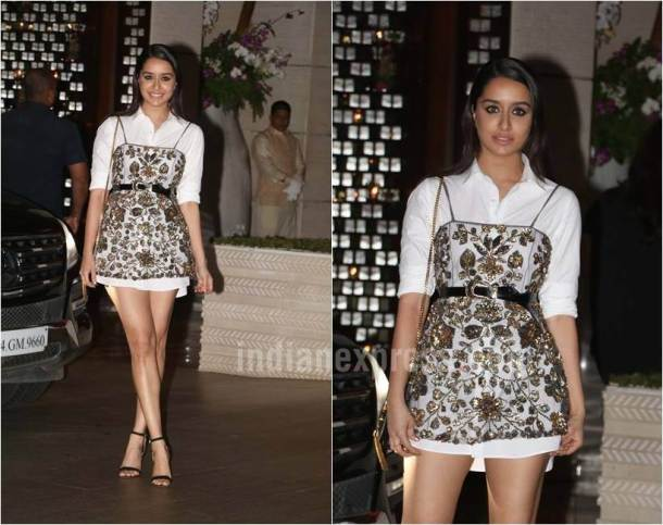 Shraddha Kapoor, Christmas dressing, party dressing