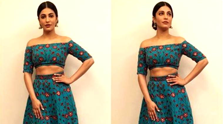 Shruti Hassan in a Nikhil Thampi lehenga set is wedding ready.
