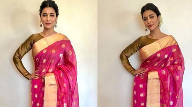 Shruti Hassan gives us style lessons for the wedding season.