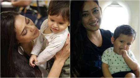Shweta Tiwari promises something beautiful to son Reyansh on his birthday, see photos
