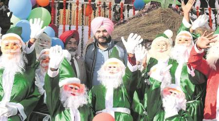 Anyone staring down Christians will have their eyes gouged out, says Navjot Singh Sidhu